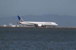 職業旅人さんが、サンフランシスコ国際空港で撮影したユナイテッド航空 787-9の航空フォト(写真)