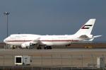 なごやんさんが、中部国際空港で撮影したドバイ・ロイヤル・エア・ウィング 747-422の航空フォト(写真)