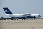 なごやんさんが、中部国際空港で撮影したシルク・ウェイ・エアラインズ Il-76TDの航空フォト(写真)