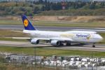 Orcaさんが、成田国際空港で撮影したルフトハンザドイツ航空 747-830の航空フォト(写真)