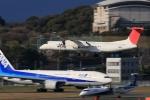 門ミフさんが、福岡空港で撮影した日本エアコミューター DHC-8-402Q Dash 8の航空フォト(写真)