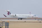 ストロベリーさんが、中部国際空港で撮影したQatar Exective  G650 (G-VI)の航空フォト(写真)