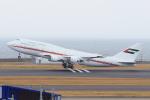 ストロベリーさんが、中部国際空港で撮影したドバイ・ロイヤル・エア・ウィング 747-422の航空フォト(写真)