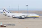 ストロベリーさんが、中部国際空港で撮影したアントノフ・エアラインズ An-124 Ruslanの航空フォト(写真)