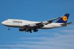 KAZ_YYZさんが、トロント・ピアソン国際空港で撮影したルフトハンザドイツ航空 747-430の航空フォト(写真)