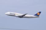 Timothyさんが、成田国際空港で撮影したルフトハンザドイツ航空 747-830の航空フォト(写真)