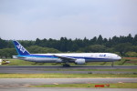 AokaiE531さんが、成田国際空港で撮影した全日空 777-381/ERの航空フォト(写真)