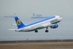 セブンさんが、中部国際空港で撮影したウズベキスタン航空 A320-214の航空フォト(写真)