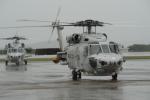 はっくさんが、館山航空基地で撮影した海上自衛隊 SH-60Kの航空フォト(写真)