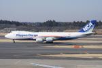神宮寺ももさんが、成田国際空港で撮影した日本貨物航空 747-8KZF/SCDの航空フォト(写真)