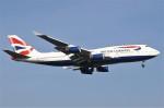masa707さんが、ロンドン・ヒースロー空港で撮影したブリティッシュ・エアウェイズ 747-436の航空フォト(写真)