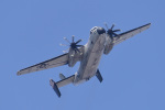 ばとさんが、厚木飛行場で撮影したアメリカ海軍 C-2A Greyhoundの航空フォト(写真)