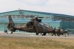 ショウさんが、目達原駐屯地で撮影した陸上自衛隊 OH-1の航空フォト(写真)