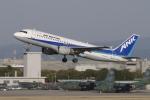 EXIA01さんが、名古屋飛行場で撮影したエアーニッポン A320-211の航空フォト(写真)