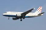 masa707さんが、ロンドン・ヒースロー空港で撮影したクロアチア航空 A319-112の航空フォト(写真)