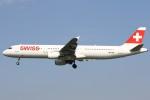 masa707さんが、ロンドン・ヒースロー空港で撮影したスイスインターナショナルエアラインズ A321-131の航空フォト(写真)