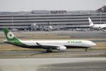 masa0420さんが、八丈島空港で撮影したエバー航空 A330-302の航空フォト(写真)