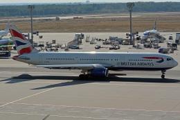 kansai-spotterさんが、フランクフルト国際空港で撮影したブリティッシュ・エアウェイズ 767-336/ERの航空フォト(写真)