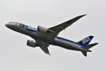 jjieさんが、成田国際空港で撮影した全日空 787-881の航空フォト(写真)