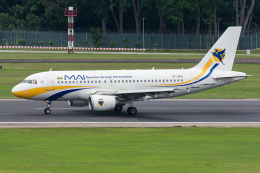 Tomo-Papaさんが、シンガポール・チャンギ国際空港で撮影したミャンマー国際航空 A319-111の航空フォト(写真)