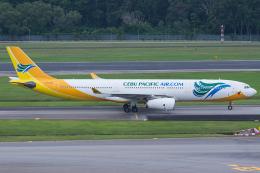 Tomo-Papaさんが、シンガポール・チャンギ国際空港で撮影したセブパシフィック航空 A330-343Xの航空フォト(写真)