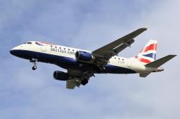 masa707さんが、ロンドン・シティ空港で撮影したBAシティフライヤー ERJ-170-100 (ERJ-170STD)の航空フォト(写真)