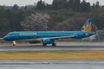 daisuke1228さんが、成田国際空港で撮影したベトナム航空 A321-231の航空フォト(写真)