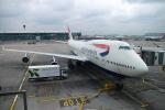 kanadeさんが、ロンドン・ヒースロー空港で撮影したブリティッシュ・エアウェイズ 747-436の航空フォト(写真)