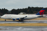 daisuke1228さんが、成田国際空港で撮影したデルタ航空 747-451の航空フォト(写真)