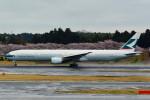 daisuke1228さんが、成田国際空港で撮影したキャセイパシフィック航空 777-367の航空フォト(写真)