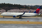 daisuke1228さんが、成田国際空港で撮影したデルタ航空 767-332/ERの航空フォト(写真)