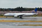 daisuke1228さんが、成田国際空港で撮影したユナイテッド航空 777-222/ERの航空フォト(写真)