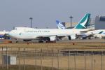 せぷてんばーさんが、成田国際空港で撮影したキャセイパシフィック航空 747-467F/ER/SCDの航空フォト(写真)