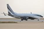 Wings Flapさんが、中部国際空港で撮影したアメリカ個人所有 737-7JV BBJの航空フォト(写真)