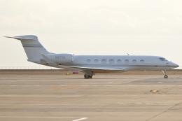Wings Flapさんが、中部国際空港で撮影したアメリカ個人所有 Gulfstream G650 (G-VI)の航空フォト(写真)