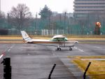 まいけるさんが、調布飛行場で撮影したアイベックスアビエイション 172P Skyhawk IIの航空フォト(写真)