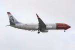 masa707さんが、ロンドン・ガトウィック空港で撮影したノルウェー・エア・インターナショナル 737-8JPの航空フォト(写真)