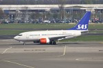 masa707さんが、アムステルダム・スキポール国際空港で撮影したスカンジナビア航空 737-683の航空フォト(写真)