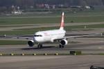 masa707さんが、アムステルダム・スキポール国際空港で撮影したスイスインターナショナルエアラインズ A321-111の航空フォト(写真)