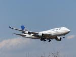 Snow manさんが、成田国際空港で撮影したユナイテッド航空 747-422の航空フォト(写真)