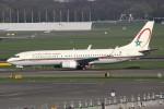 masa707さんが、アムステルダム・スキポール国際空港で撮影したロイヤル・エア・モロッコ 737-8B6の航空フォト(写真)