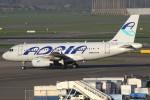 masa707さんが、アムステルダム・スキポール国際空港で撮影したアドリア航空 A319-132の航空フォト(写真)