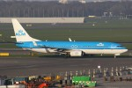 masa707さんが、アムステルダム・スキポール国際空港で撮影したKLMオランダ航空 737-8K2の航空フォト(写真)