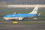 masa707さんが、アムステルダム・スキポール国際空港で撮影したKLMオランダ航空 737-7K2の航空フォト(写真)