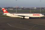 masa707さんが、アムステルダム・スキポール国際空港で撮影したスイスインターナショナルエアラインズ A330-343Xの航空フォト(写真)