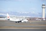 シャークレットさんが、新千歳空港で撮影した日本航空 737-846の航空フォト(写真)