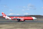 シャークレットさんが、新千歳空港で撮影したエアアジア・エックス A330-343Xの航空フォト(写真)