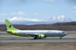シャークレットさんが、新千歳空港で撮影したジンエアー 737-86Nの航空フォト(写真)