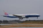 さくらの城南山。さんが、成田国際空港で撮影したチャイナエアライン 777-309/ERの航空フォト(写真)