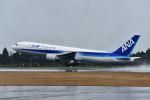 bestguyさんが、鹿児島空港で撮影した全日空 767-381の航空フォト(写真)